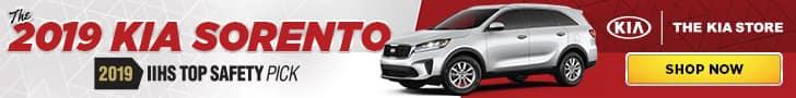 2019 Kia Sorento Banner Ad