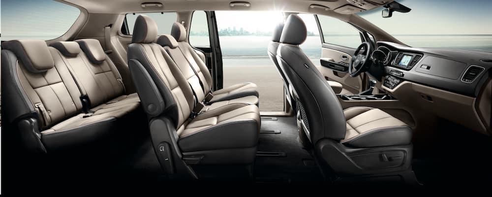 Kia Sedona SX Interior Seats