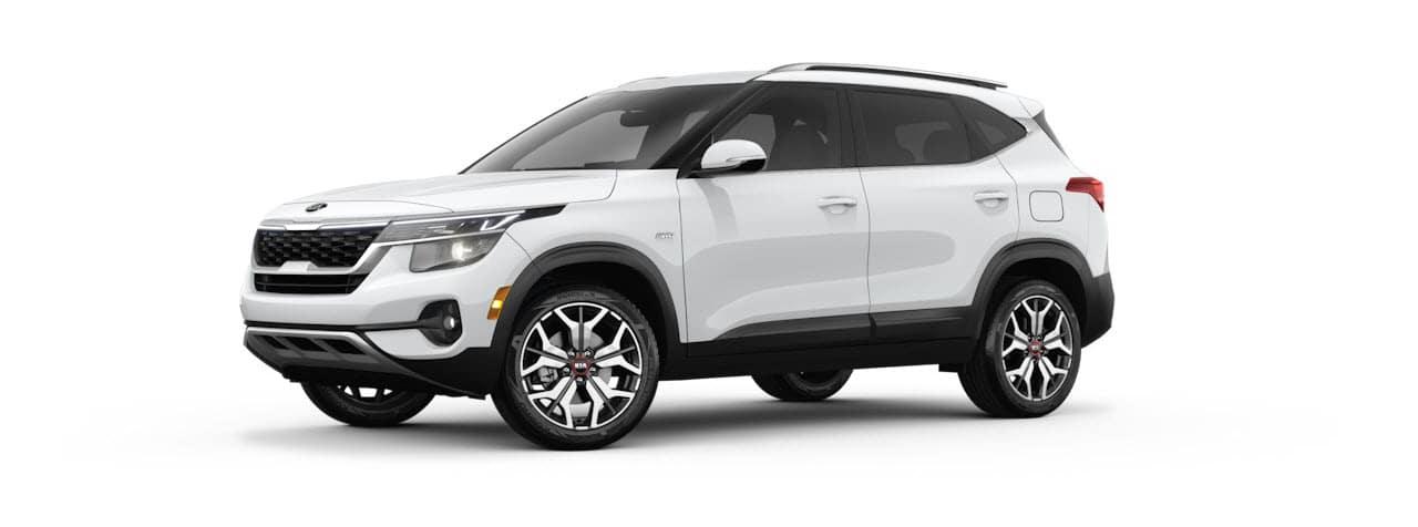 2021 KIA Seltos S Turbo Snow White Pearl