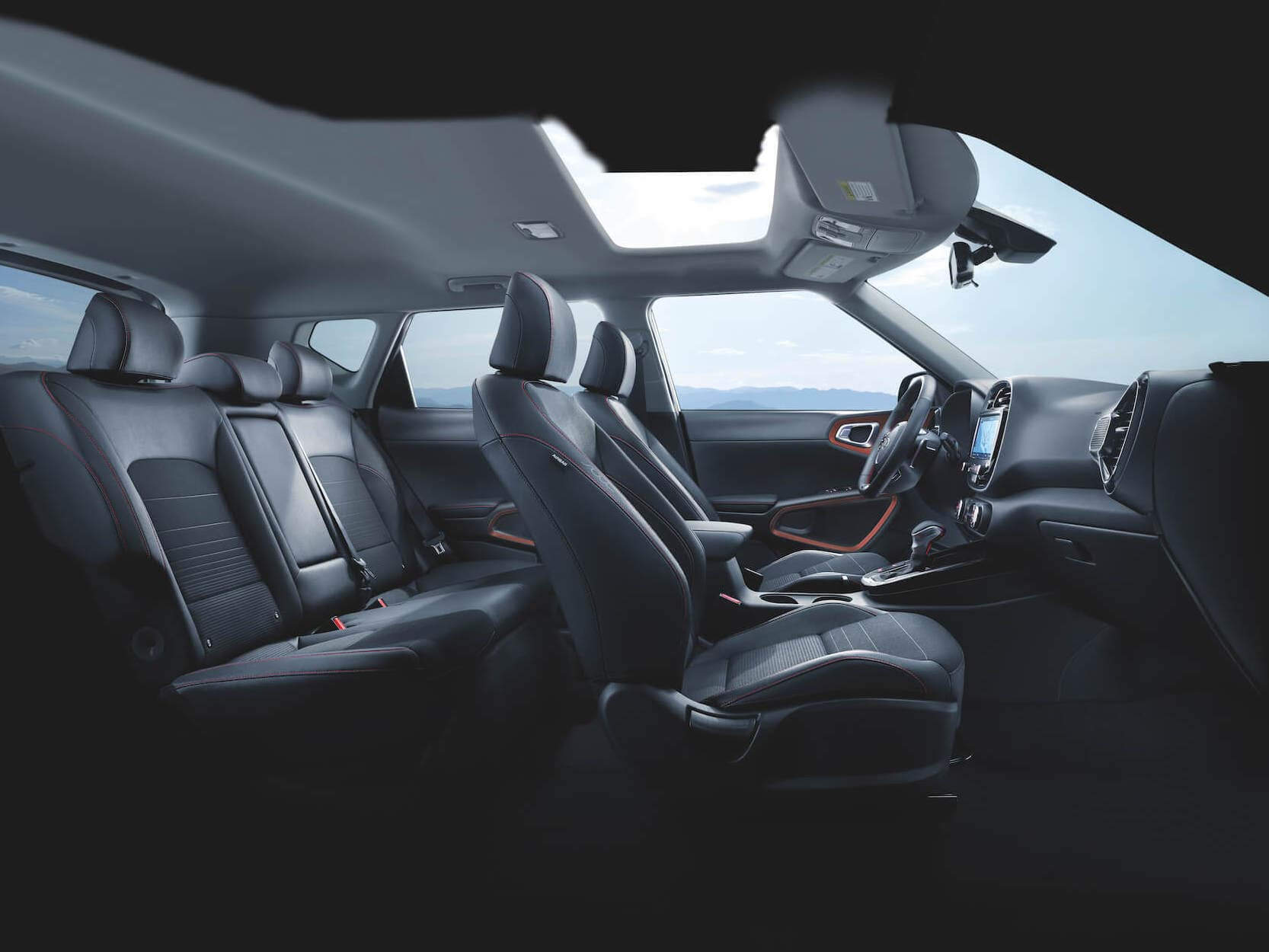 Available Kia Soul Interior Features