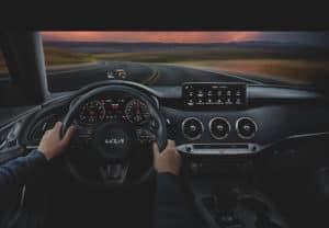 Kia Stinger Dashboard Technology