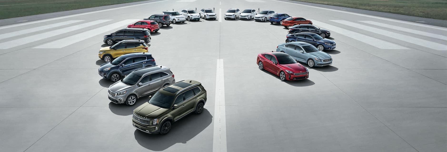 Kia Vehicles Full Line Up
