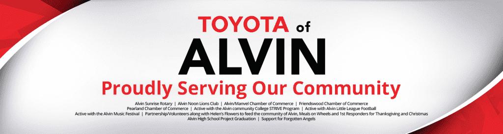 Toyota Of Alvin >> Toyota Of Alvin Toyota Dealer In Alvin Tx