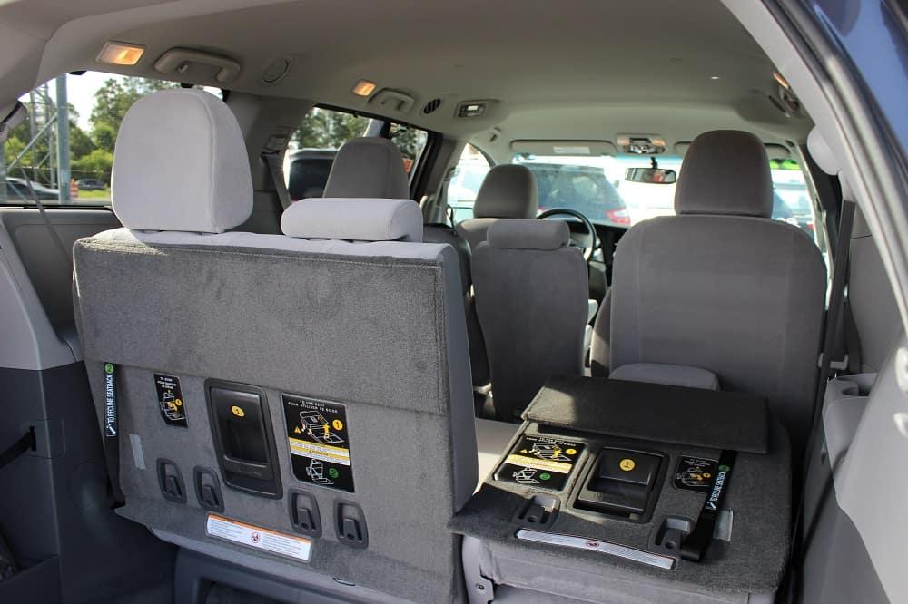 spacious Toyota van