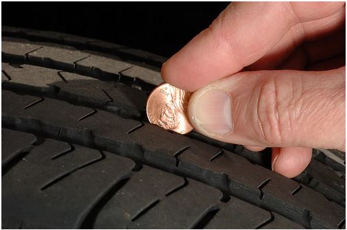 tire tread test
