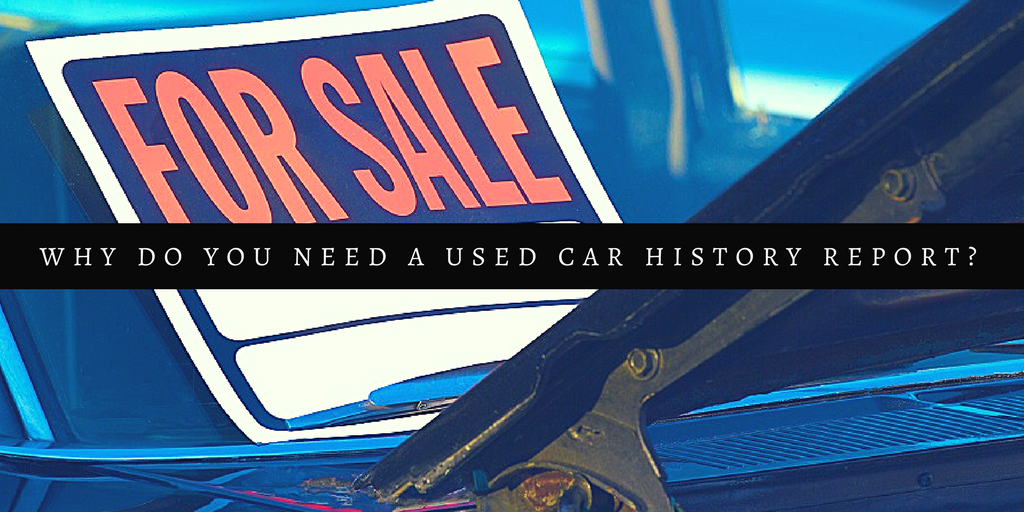 used car history report tips