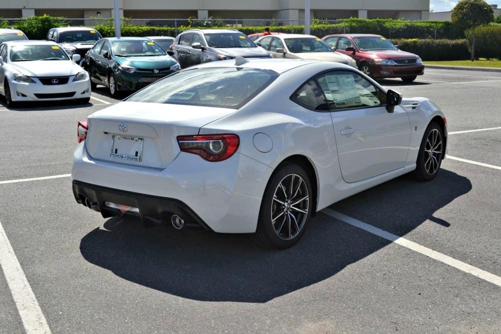 Toyota Sports Car in Orlando