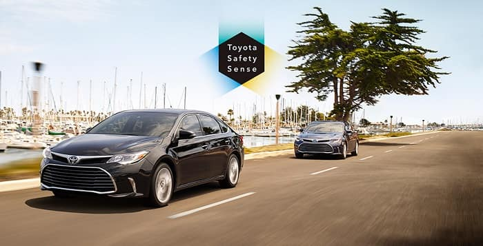 Check out new Toyota vehicle safety features!