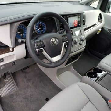 New Orlando Toyota minivan.