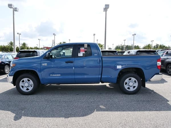 The Toyota Tundra available at Toyota of Orlando