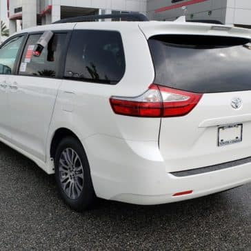 Test drive the new Toyota Sienna.