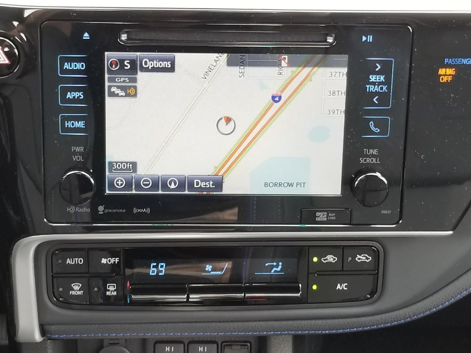 Entune Infotainment in the new Orlando Toyota Corolla.