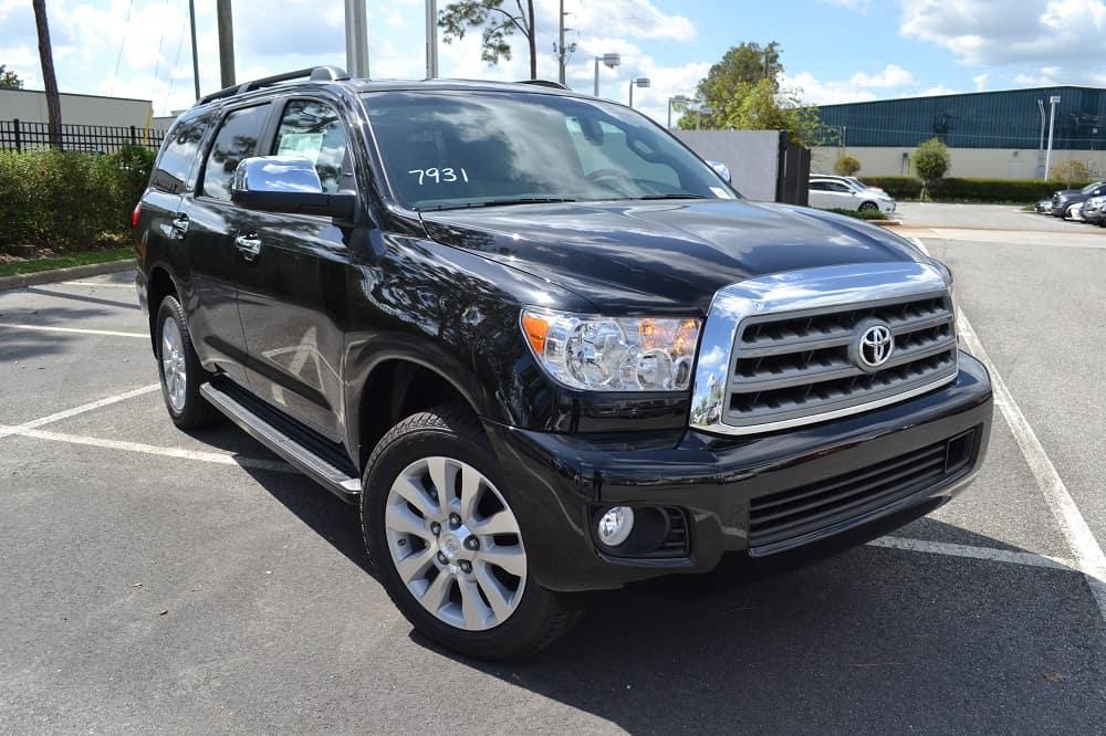 Toyota SUV deals