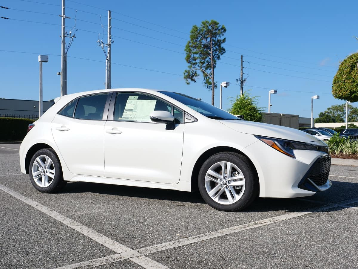 Orlando area new Toyota models for sale.