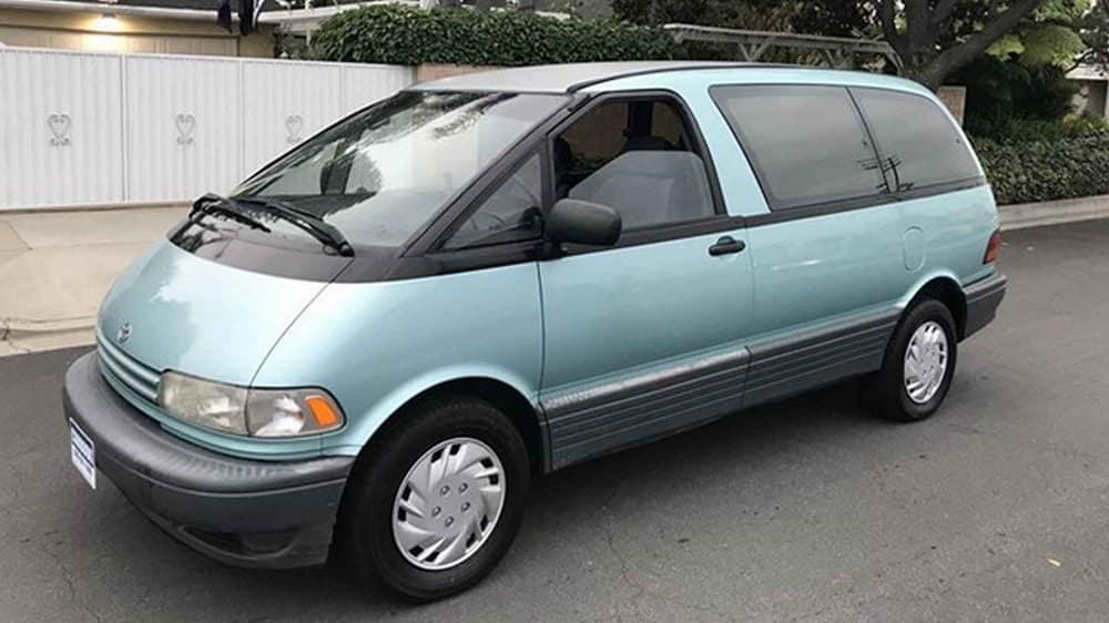 new Toyota minivan