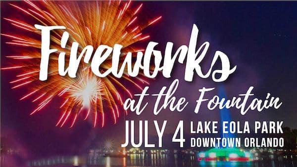 Orlando July 4th