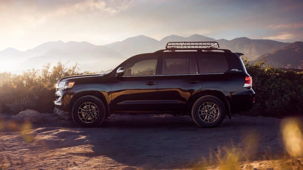 new luxury Toyotas
