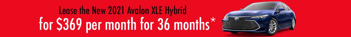 Toyota Avalon Hybrid Special