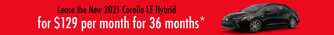 Toyota Corolla Hybrid Special