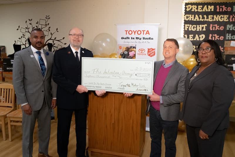 Toyota news philanthropy