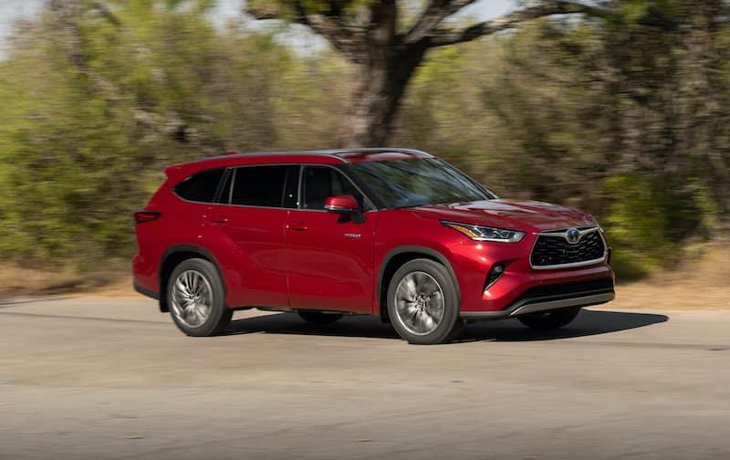 2020 hybrid SUVs