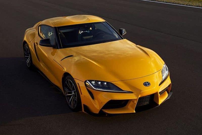 2020 Toyota sports car