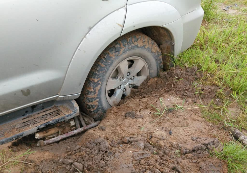 tips for driving off road