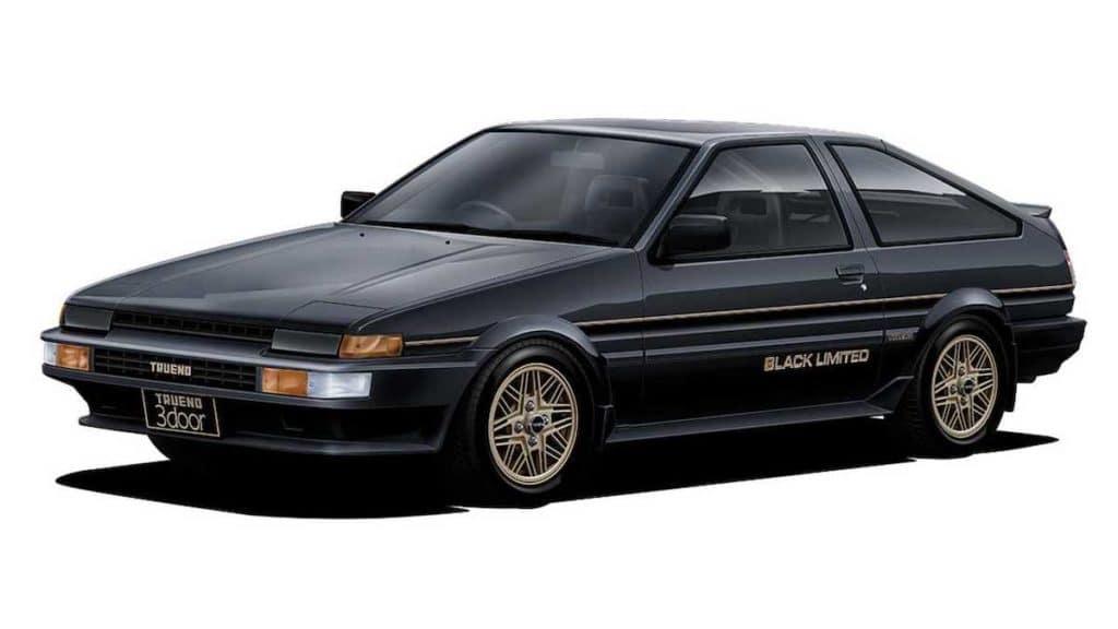 vintage Toyota car