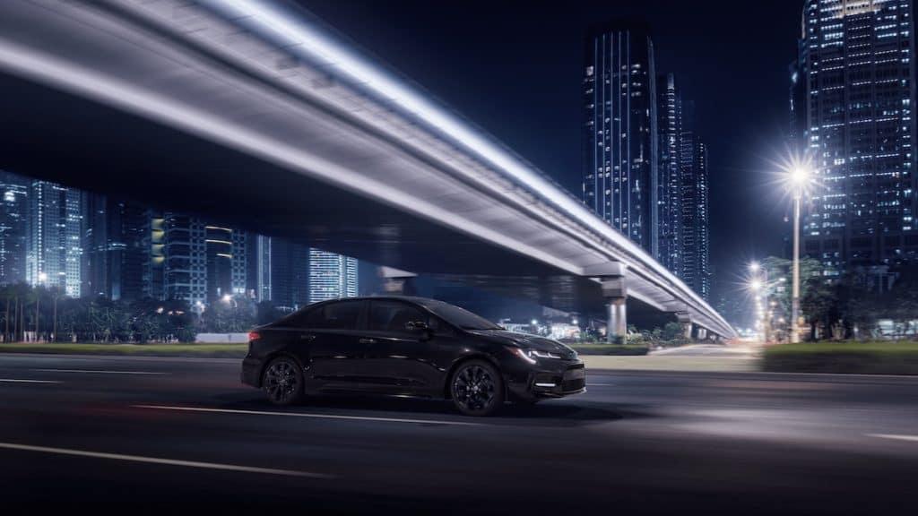 new Toyota Nightshade Edition