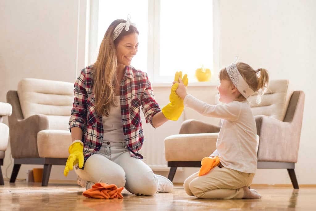 how to clean your home