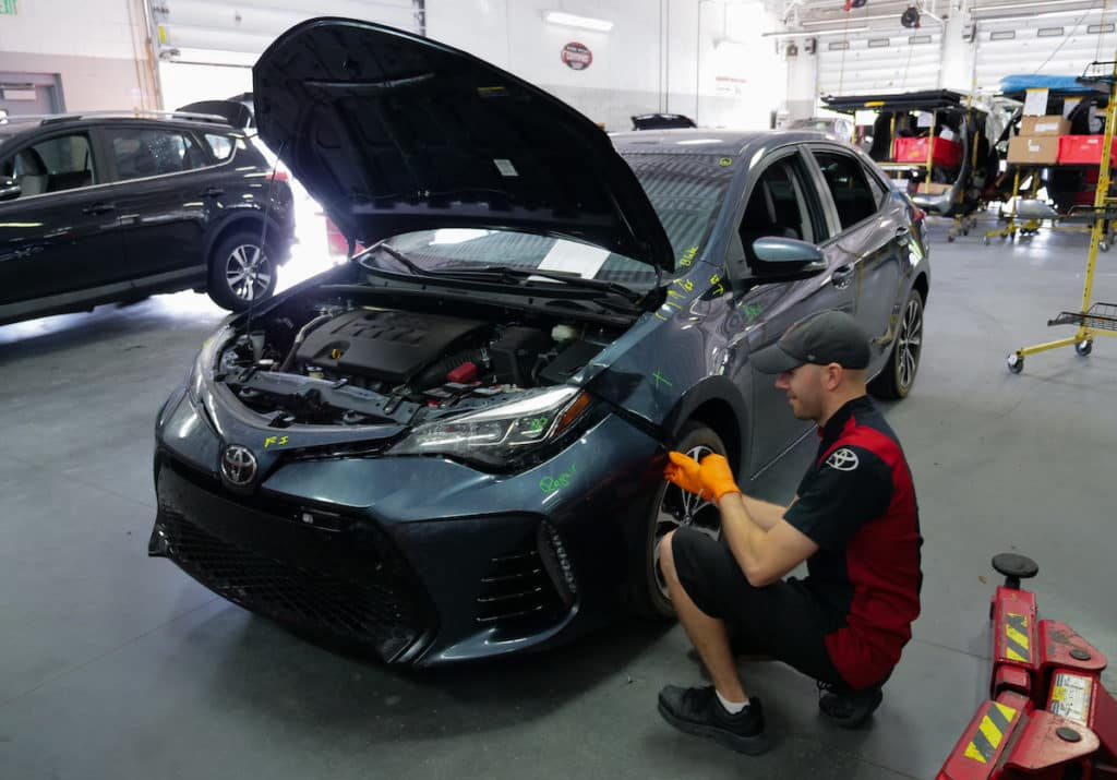 Toyota repair center