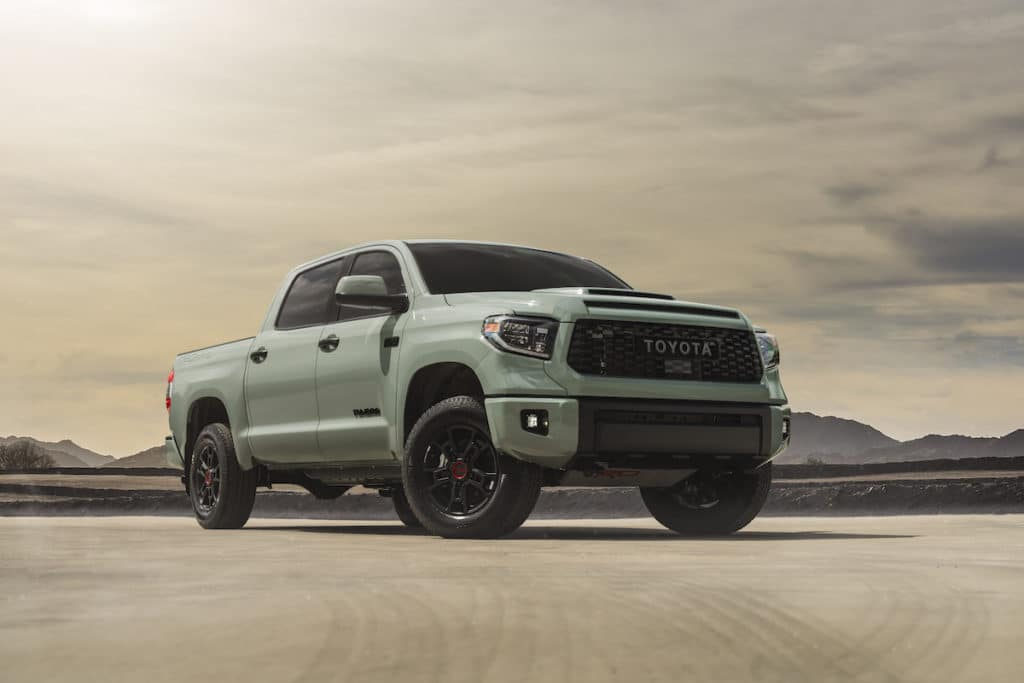 new Toyota trail edition