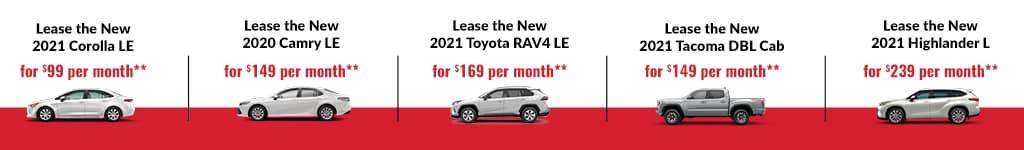 New Toyota Specials in Orlando, FL