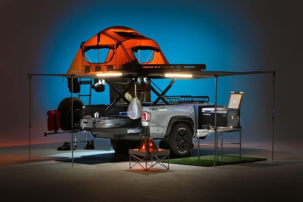 Toyota Tacoma trailer