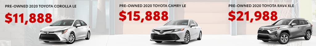 2020 Preowned Toyota