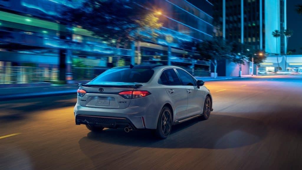fuel efficient new Toyota