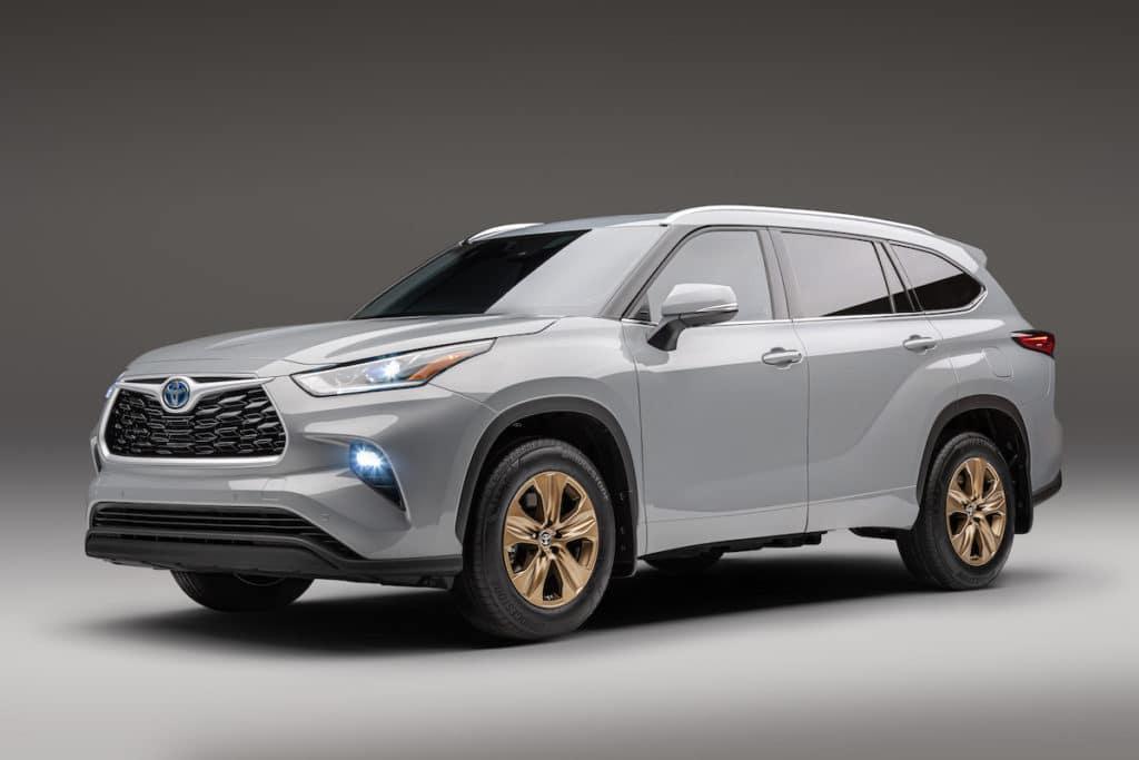 new Toyota SUV