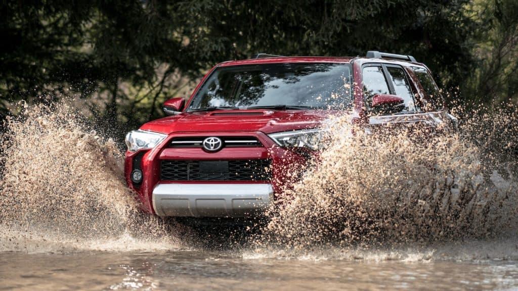 Off-road Toyota SUV