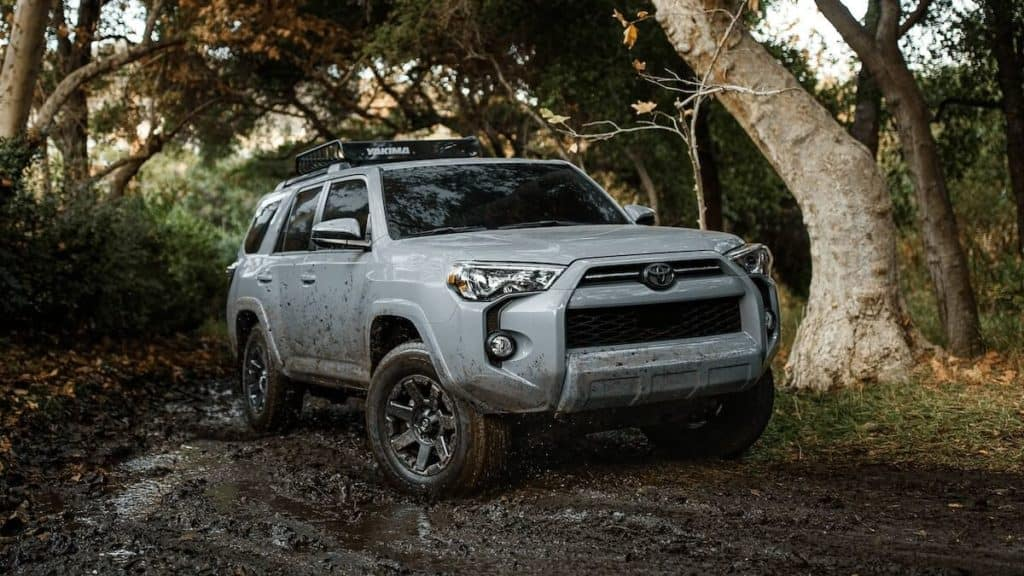new Toyota offroad SUV