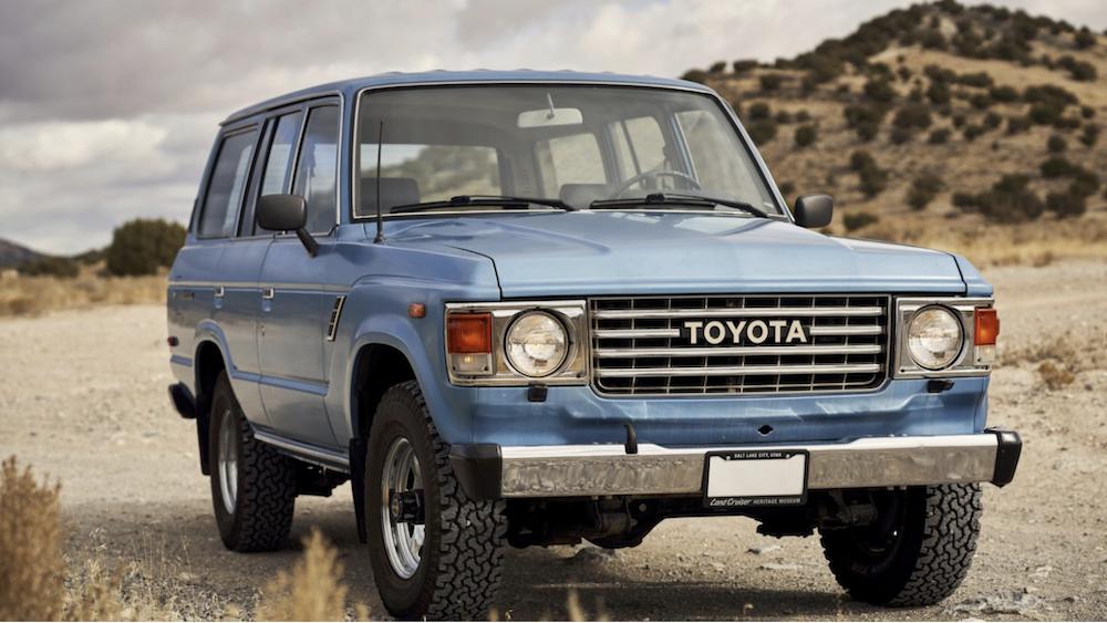 off-roading Toyota