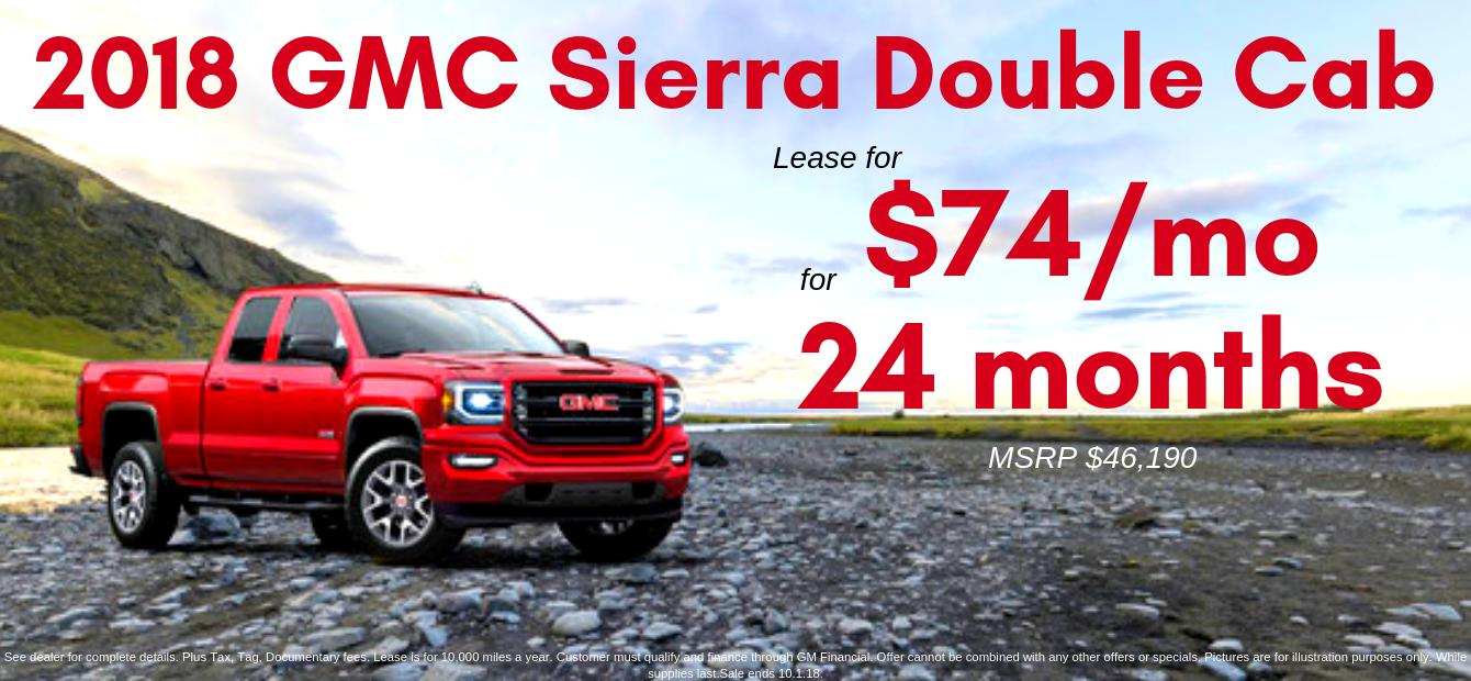2018 GMC Sierra Double Cab