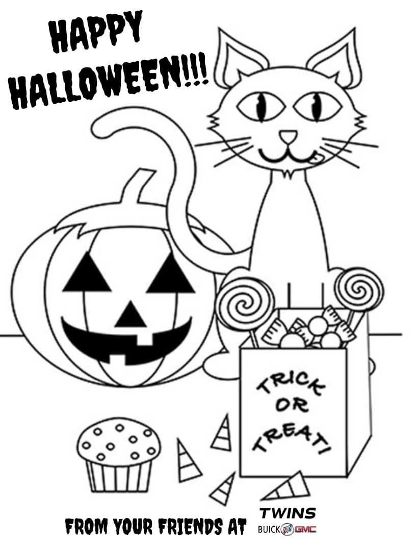 Happy Halloween Color Contest
