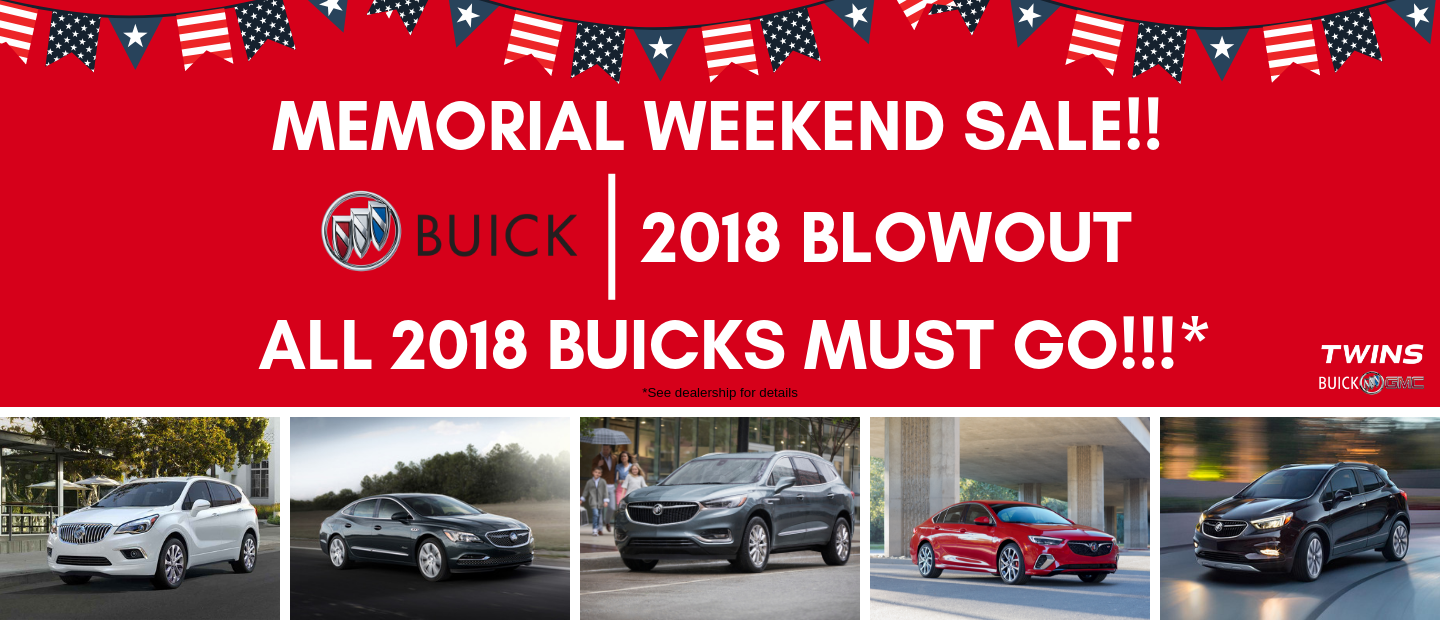 Deals on Buicks