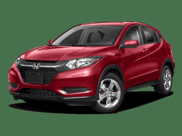 2018 Honda HR-V white background