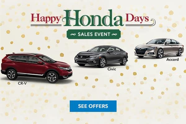 Happy Honda days banner mobile