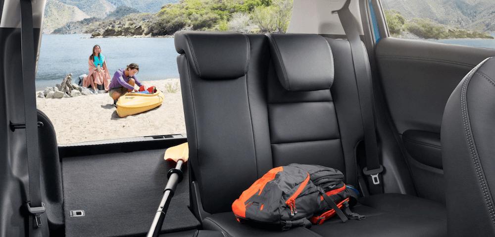 2021 Honda HR-V Interior Cargo Space filled with beach gear