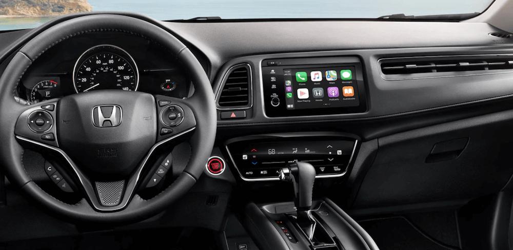 2021 Honda HR-V Interior Dashboard and steering wheel