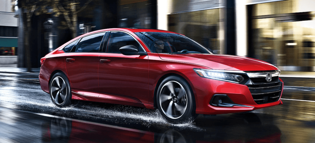 2021 Honda Accord Color Banner in Red