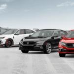 2021 Honda Civic Colors Banner