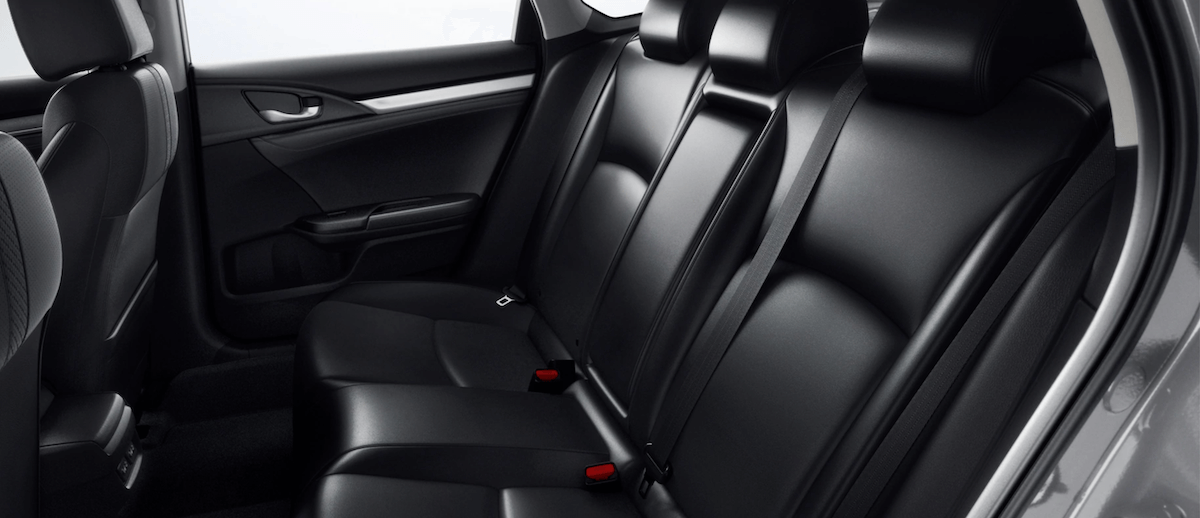 2021 Honda Civic seating banner